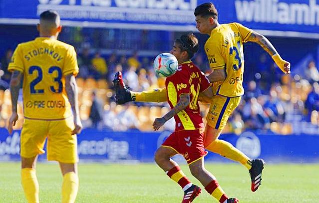 La UD Las Palmas tampoco puede con el Alcorcón (1-1)